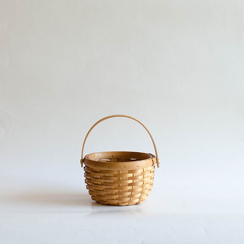 Mini cesta picnic redonda