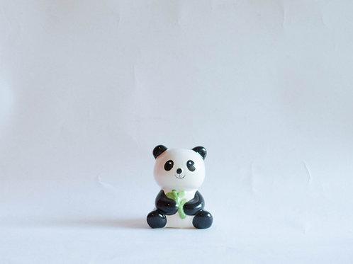 Panda em cerâmica