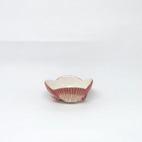 Bowl concha vermelho