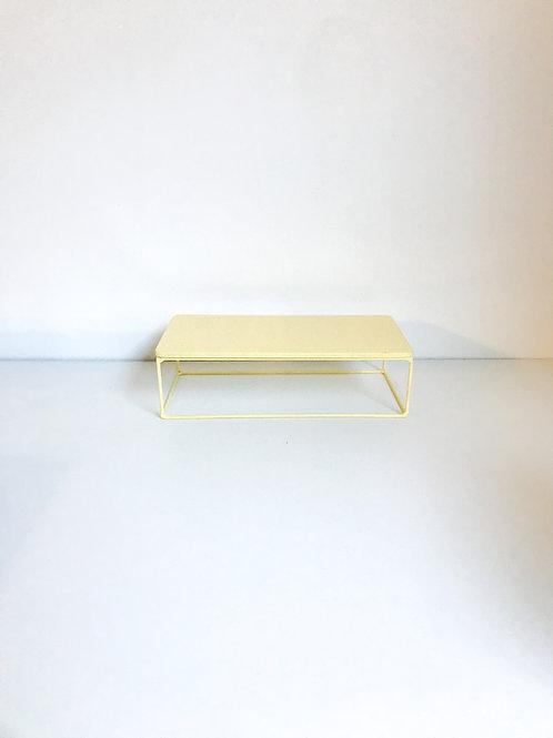 Suporte Mondrian ret amarelo claro