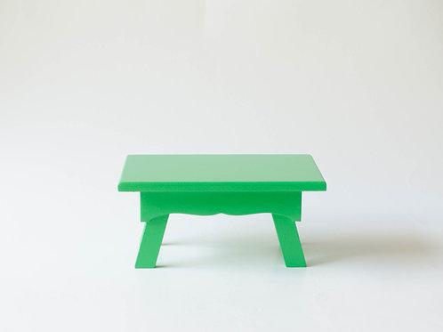 Mini banco Sofia verde