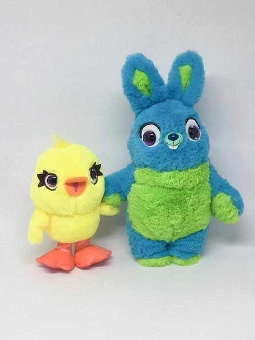 Pato e coelho pelúcia (Toy Story)