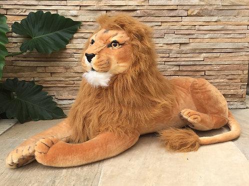 Leão gigante safari