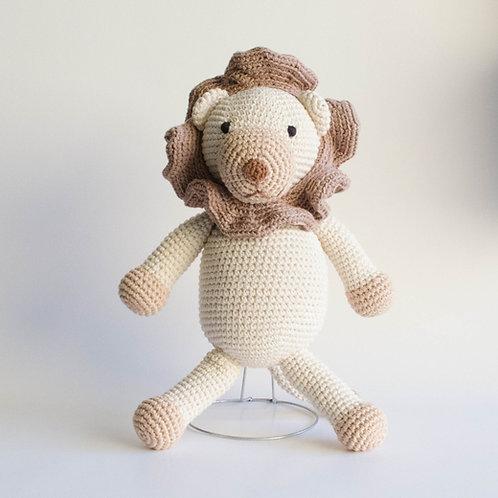 Leão em tricot