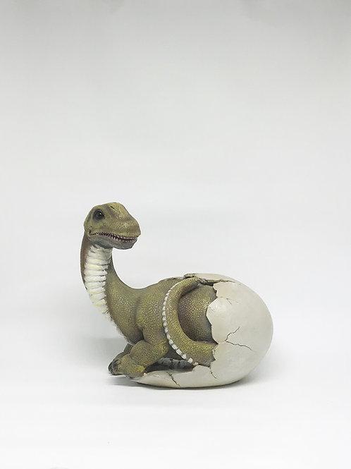 Dinossauro ovo pescoço longo