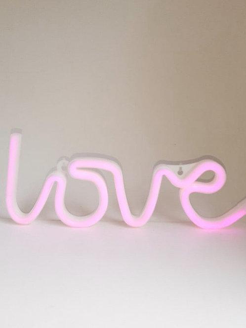 Luminoso neon Love