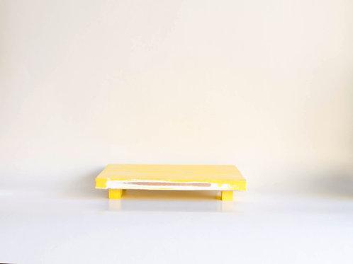 Bandeja madeira Geta M amarelo