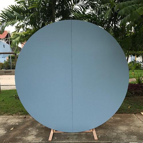 Painel redondo azul claro (2m)