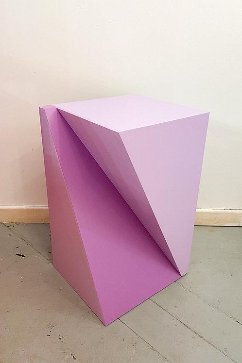 Cubo torcido M -lilás