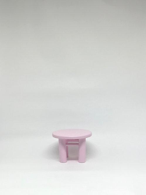 Banco Poli rosa claro