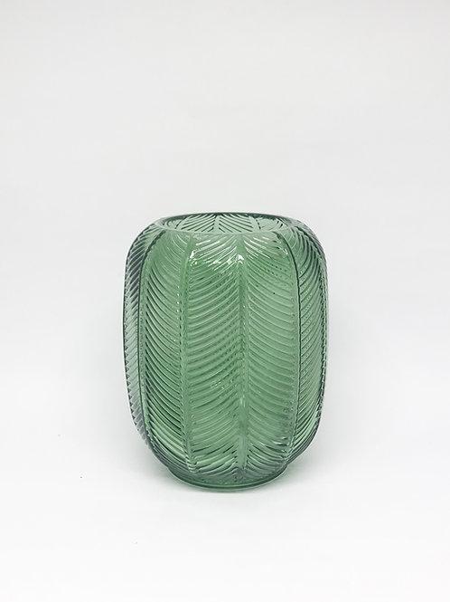 Vaso vidro M verde