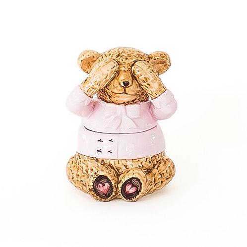 Bowl Urso Rosa