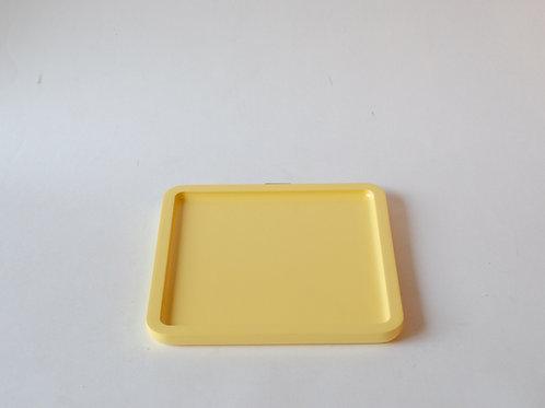 Bandeja quadrada Milão amarelo