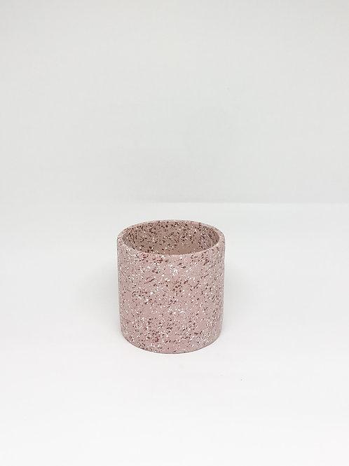 Vaso Granilite P redondo rosa