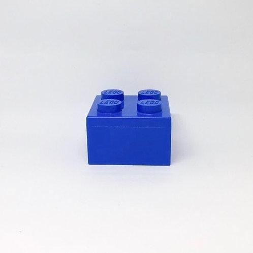 Caixa Lego P azul