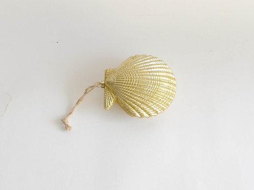 Mini concha dourada