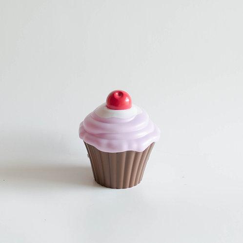 Cupcake cereja lilás