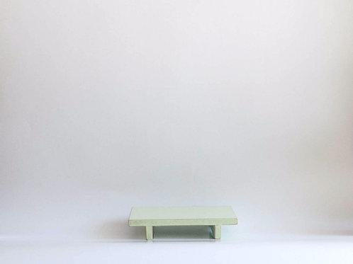 Bandeja madeira Geta P verde claro