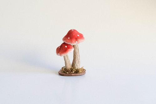 Trio duplas de cogumelos P