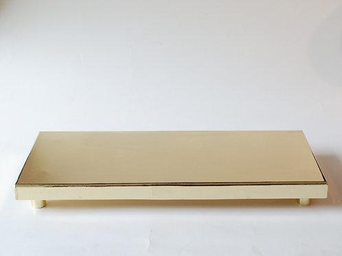 Bandeja banco Clássico P dourado