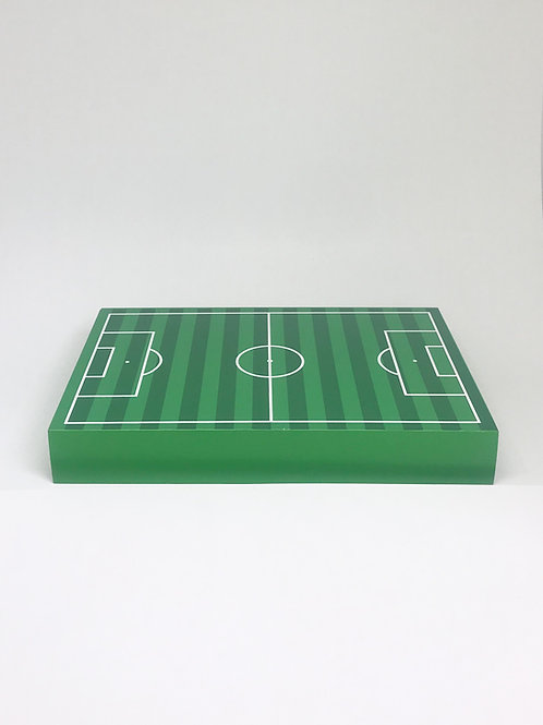 Bandeja campo de futebol