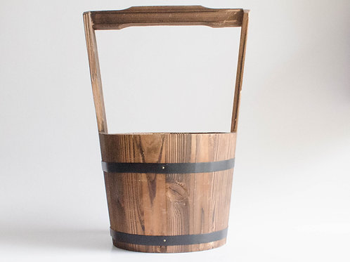 Cesto alça madeira