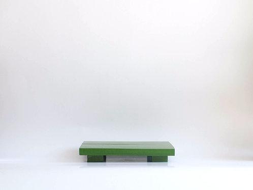 Bandeja madeira Geta M verde musgo