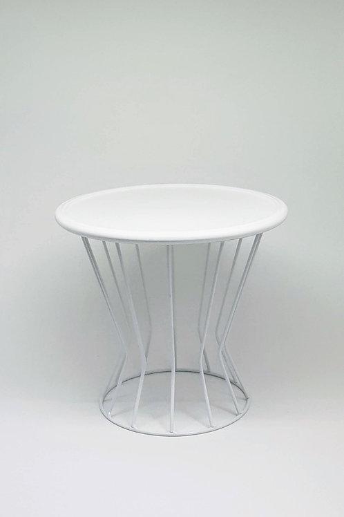 Suporte trapézio branco - Prato disco branco