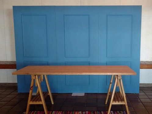Painel Boiserie azul 3 m (até 5m)