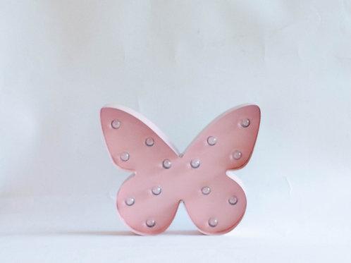 Luminoso borboleta