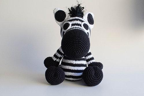 Zebra em tricot