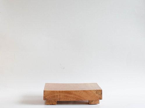 Bandeja madeira Geta alta M