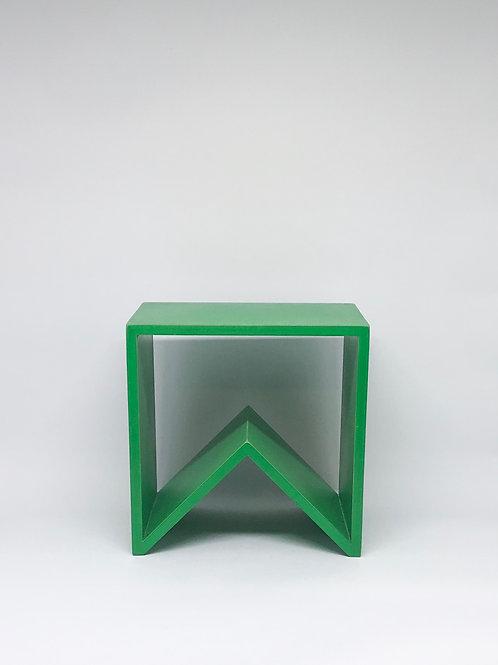 Nicho bandeirola verde