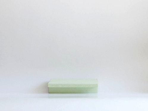 Bandeja madeira Geta PP verde claro