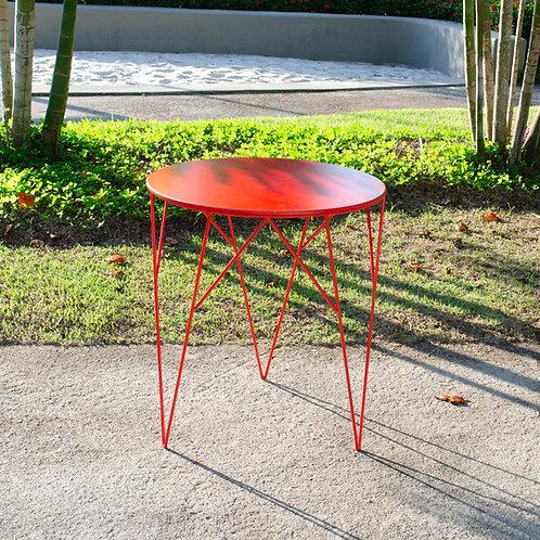 mesa Prisma vermelha