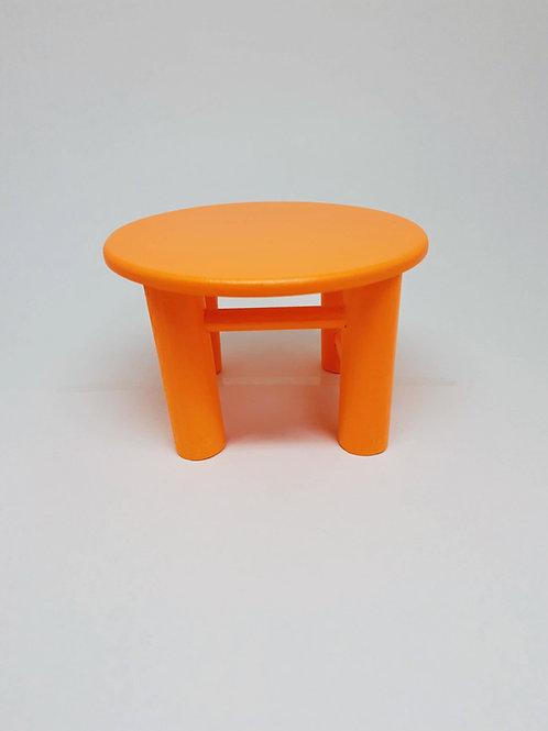 Banco Poli M laranja neon