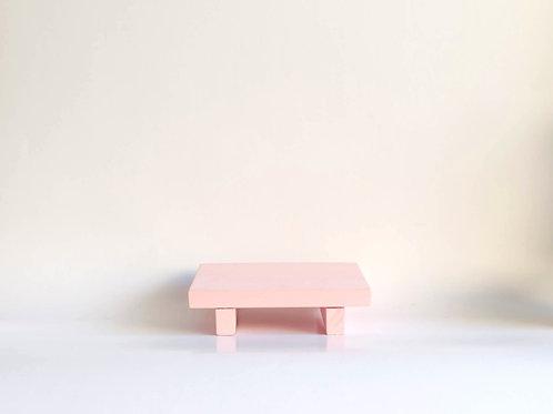 Bandeja madeira Geta P rosa