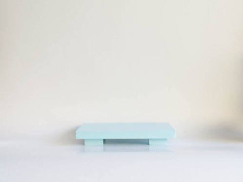 Bandeja madeira Geta P azul claro