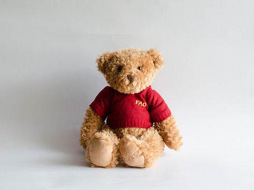 Urso Fao P marrom