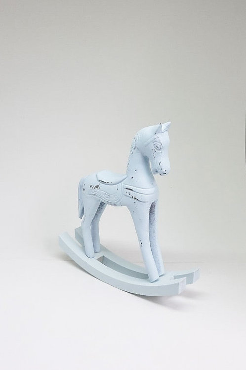Cavalinho de balanço M azul