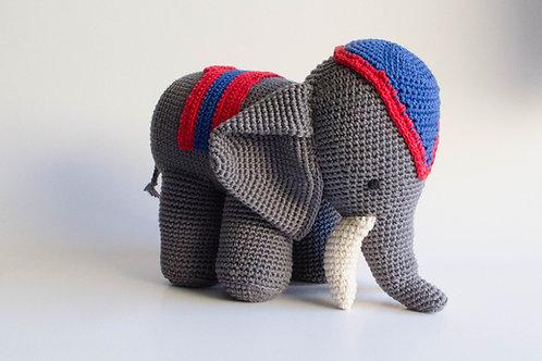Elefante Circo Tricot