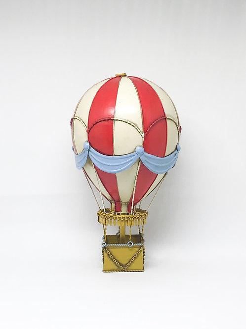 Balão vintage vermelho