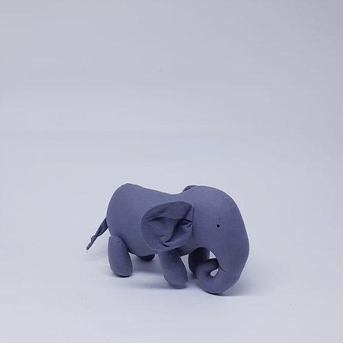 Elefante em tecido