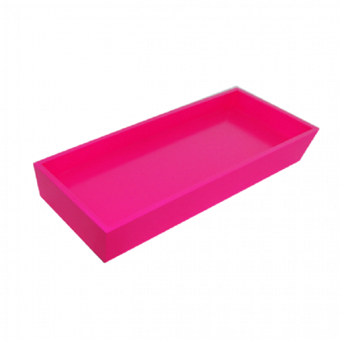 Bandeja Laqueada pink neon