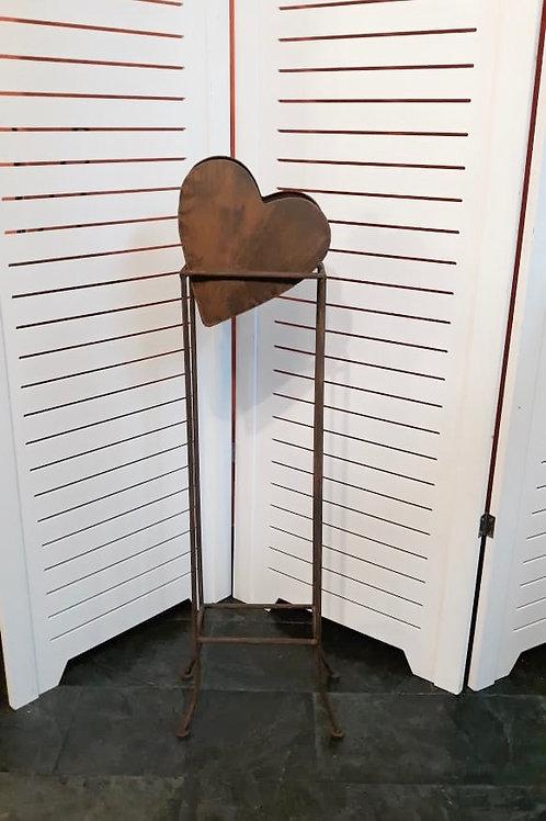 Pedestal coração