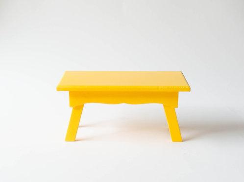 Banco Sofia amarelo
