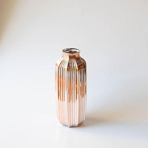 Vaso vidro cobre
