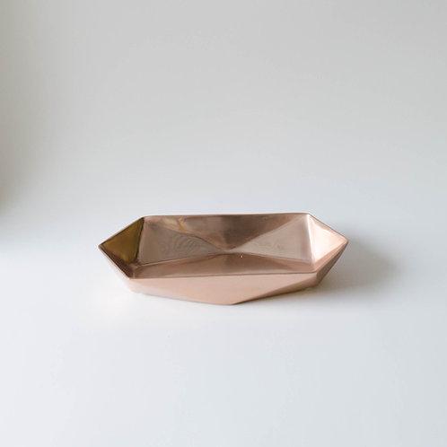 Bandeja prisma cobre