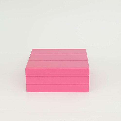 Caixa Teca pink