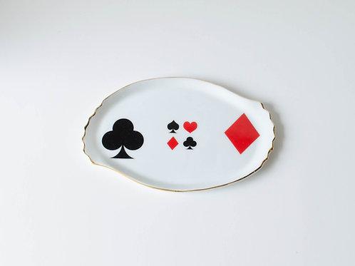 Bandeja Jogo de cartas
